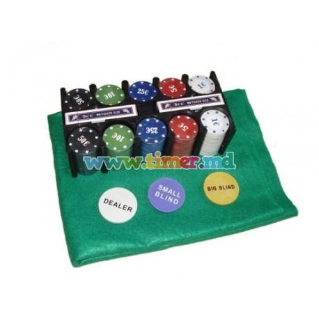 Set de poker TEXAS - Cadou pentru timpul liber