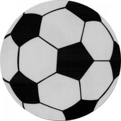 Mousepad forma rotunda minge de fotbal