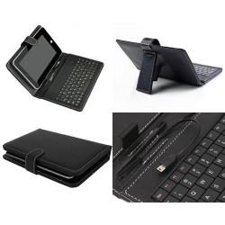 Husa tableta 7 inch cu tastatura conector USB
