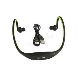 MP3 player sport incorporat in casti FM