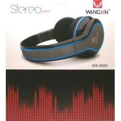 Casti Stereo Cu fir detasabil WX-s500 Extra Bass