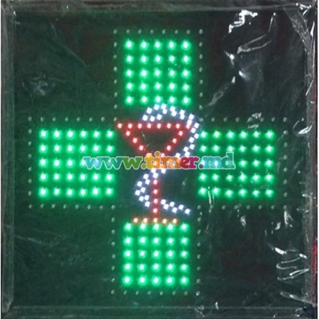 Reclama luminoasa cu leduri -Farmacie