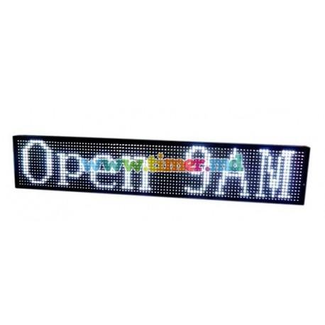 Reclama luminoasa LED - Programabila-Display Alb