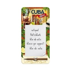 "Bloc notes magnetic ""Cuba Libre"""