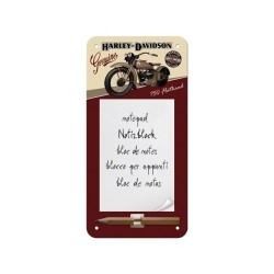 "Bloc notes magnetic ""Harley-Davidson Flathead"""