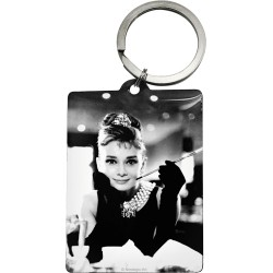 "Breloc ""Audrey Hepburn - Holly Golightly"""