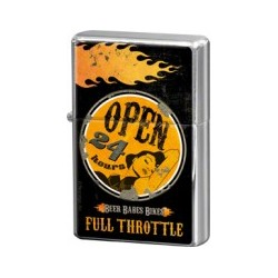 "Bricheta metalica ""Full Throttle Open 24h"""