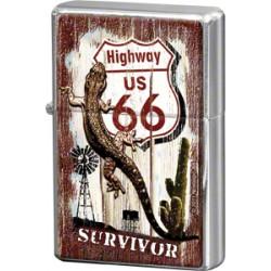 "Bricheta metalica ""Route 66 - Survivor"""