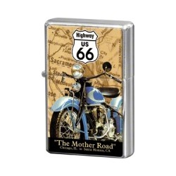 "Bricheta metalica ""Route 66 Map"""