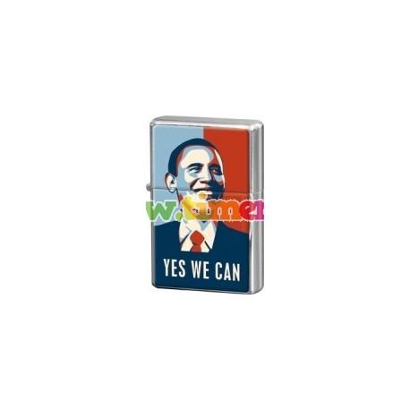 "Bricheta metalica ""Yes We Can!"""