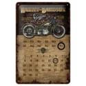 "Calendar metalic de perete ""Harley-Davidson Wall""(20/30cm)"