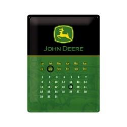 "Calendar metalic de perete ""John Deere"" (30/40cm)"