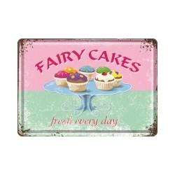"Carte postala metalica ""Fairy Cakes"""