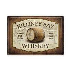 """Carte postala metalica """"Killiney Bay Whiskey"""""""