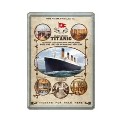 "Carte postala metalica ""Titanic Olympic Class"""