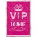 "Carte postala metalica ""VIP Pink Lounge"""