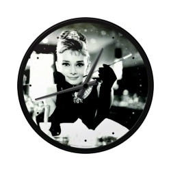 "Ceas de perete ""Audrey Hepburn"""
