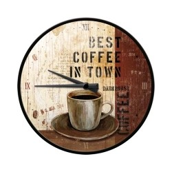 "Ceas de perete ""Best Coffee"""