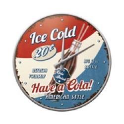 """Ceas de perete """"Have a Cola!"""""""