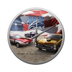 "Ceas de perete ""US Cars"""