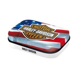 """Cutie metalica de buzunar """"Harley-Davidson USA"""""""