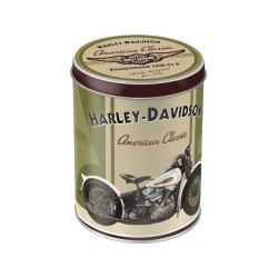 "Cutie metal rotunda ""Harley-Davidson Knucklehead"""