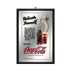 "Oglinda ""Coca-Cola 5 Cent"""