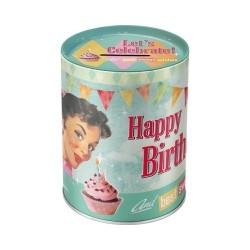 Pusculita Happy Birthday Birds