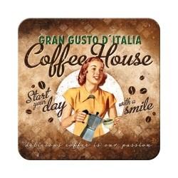 "Suport pahar ""Coffee House Lady''"