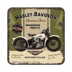 "Suport pahar ""Harley-Davidson Knucklehead''"
