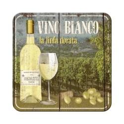 "Suport pahar ""Vino Bianco''"