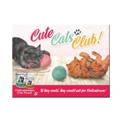 "Magnet ""Cute Cats Club"""