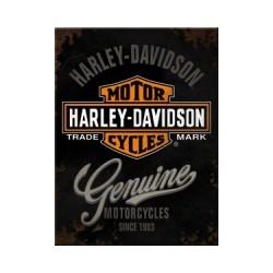 """Magnet """"Harley-Davidson Genuine"""""""