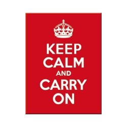 """Magnet """"Keep Calm and Carry On"""""""