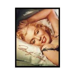"""Magnet """"Marilyn Monroe -sleepy"""""""