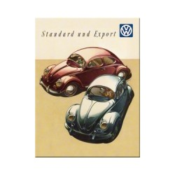"Magnet ""VW Kafer Duo"""