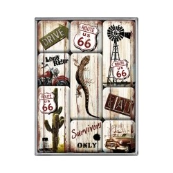 "Set magneti ""Route 66 - Survivor"""