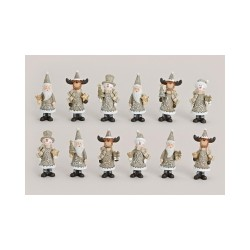 """Figurine de Craciun """"Noua colectie"""" 8 cm"""