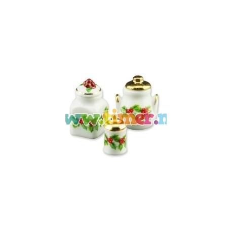 Vase decorate cu vasc