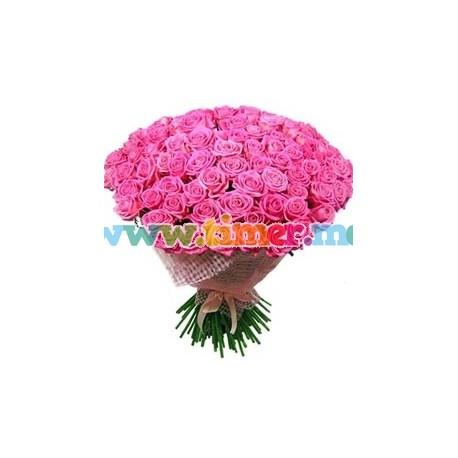 Buchet din 999 Trandafiri olanda (50-70-cm)