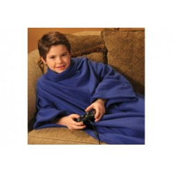 Paturica Snuggie cu maneci pentru copii