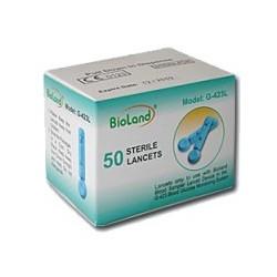Lancete (ace) sterile pt glucometru 50buc G-423L