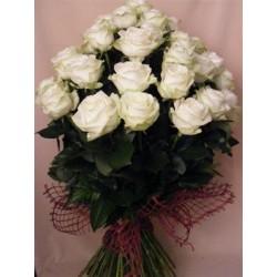 Buchet din 17 Trandafiri olanda(80-100cm)