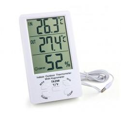 Termometru cu ceas TA298