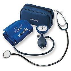 Trusă tensiometru aneroid cu stetoscop AG1-20