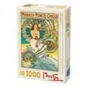 Puzzle 1000 piese Alphonse Mucha: Monaco Monte-Carlo 66930 MU 10