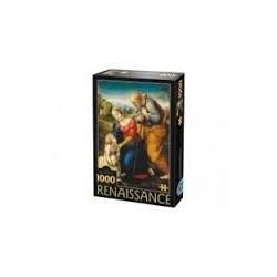 Puzzle 1000 piese Raphael - Sfanta familie cu miel 66954 RN 02