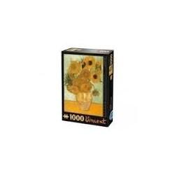Puzzle 1000 piese Vincent van Gogh - Sunflowers 66916 VG 01