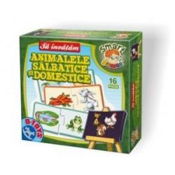 Sa invatam Animalele Salbatice si Domestice - Cutie mica 50793 AD 03