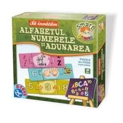 Sa invatam Alfabetul, Numerele si Adunarea - Cutie mare 50847 AF 03